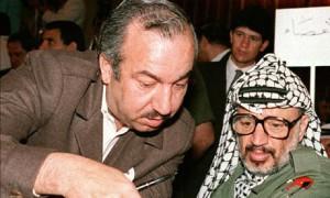 Abu Jihad y Yasser Arafat