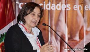 Mercedes Inés Carazo (foto actual en Perú)