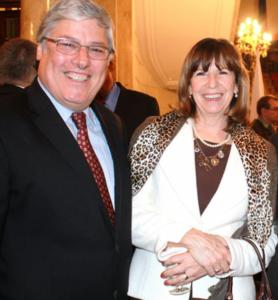 Gustavo Gemelli y Patricia Vaca Narvaja