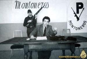 Horacio Mendizábal en rueda de prensa