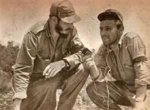 Fidel Castro y Jorge Masetti