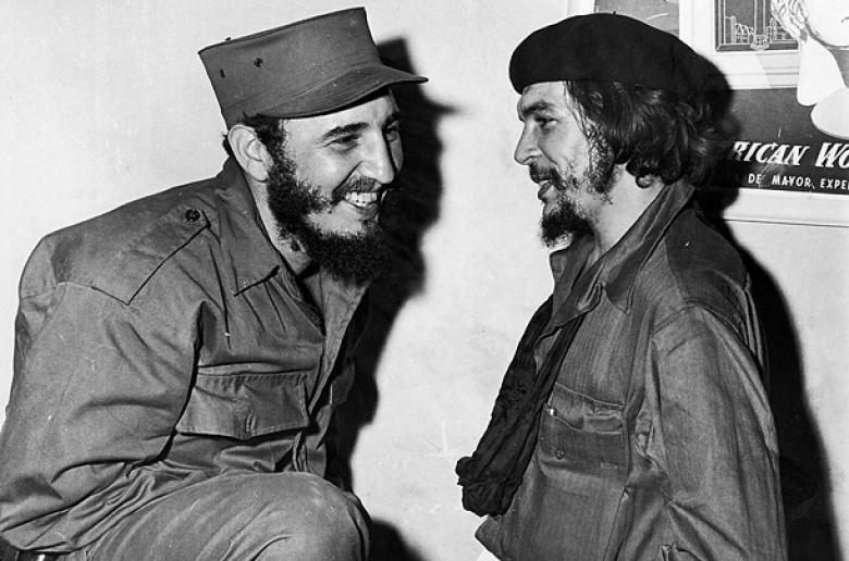 Castro y Guevara en 1959