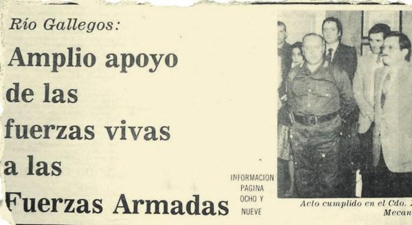 Kirchner: apoyo a la Fuerzas Armadas