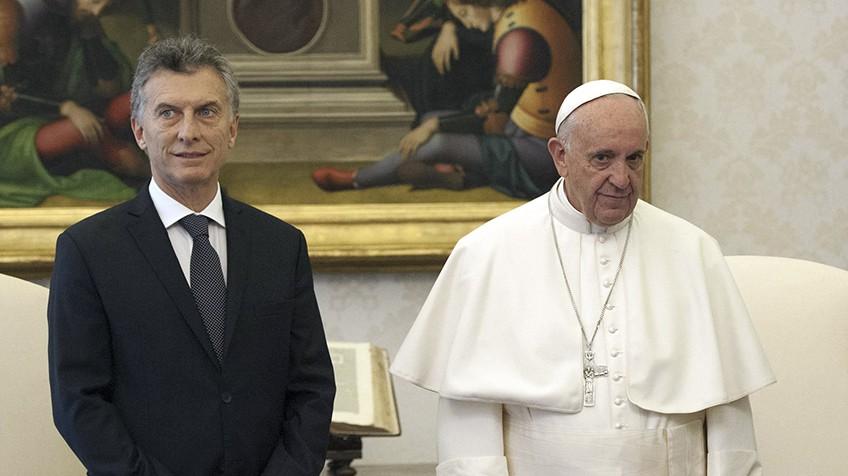 Macri y el Papa
