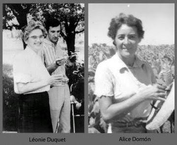 Alice Domon y Léoni Duquet