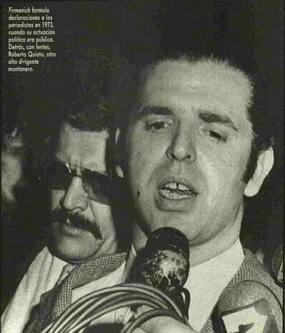Firmenich y Quieto en 1973