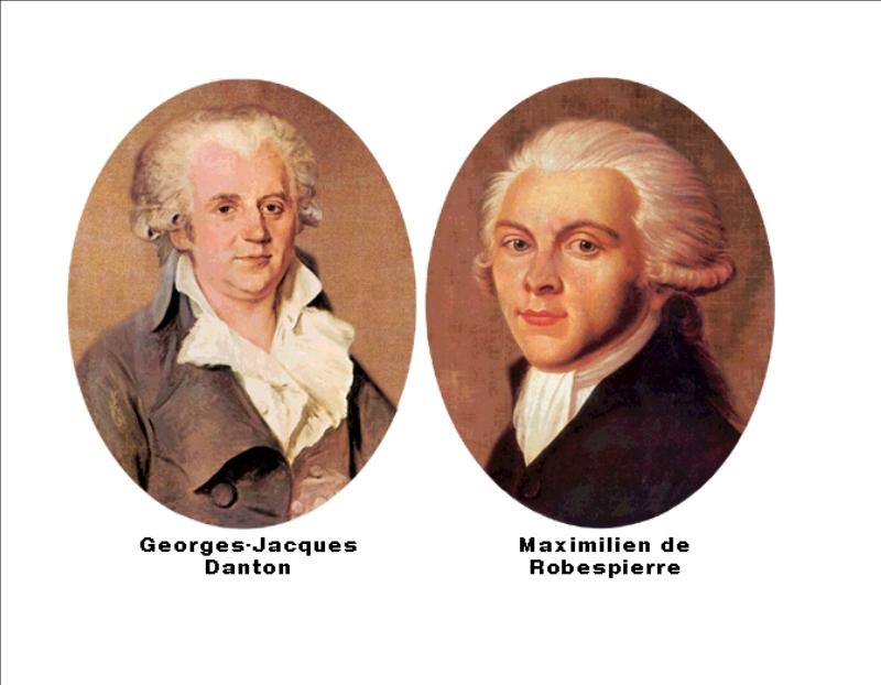 Danton y Robespierre