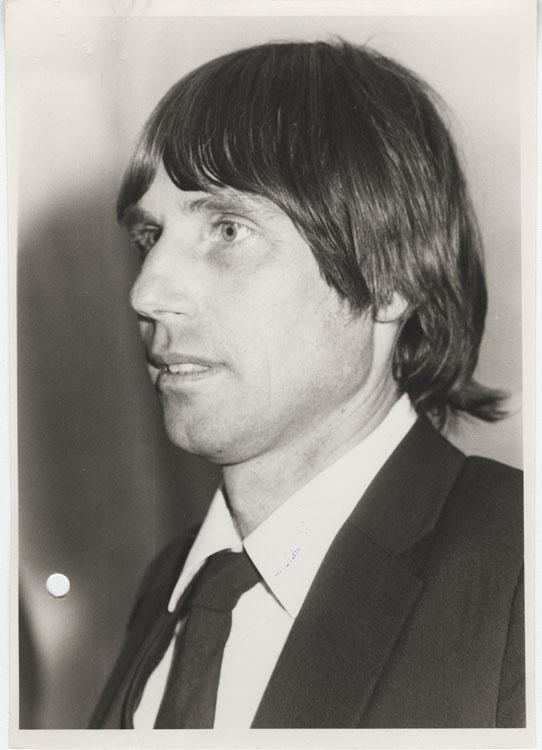 Hernán Büchi en 1983.