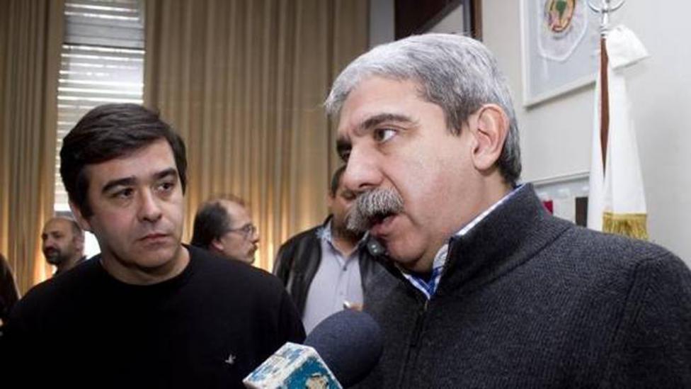 Andrés Meiszner y Aníbal Fernández