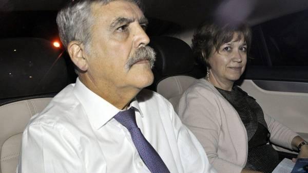 Julio De Vido y Alessandra Minnicelli