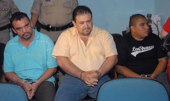 Leobardo Gaxiola López (izq.), Juan Jesús Preciado (centro) y Jorge Almanza Guzmán