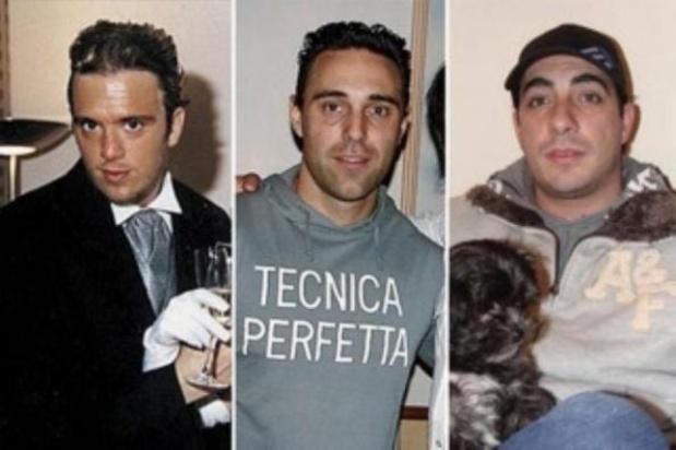 Sebastián Forza, Damián Ferrón y Leopoldo Bina