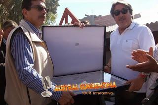Juan Manuel Medina, tesorero del SOMU y Carlos Italo Ruiz, Relaciones Laborales del SOMU, ambos empresarios de sociedades anonimas de Suarez investigadas