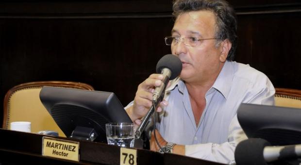 Secretario general de Camioneros Mar del Plata Héctor Martínez