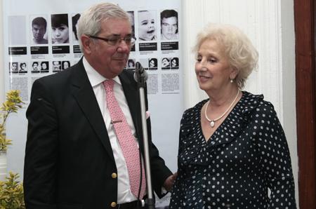 Jorge Pumo con Estela de Carlotto